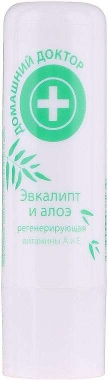 Eucalyptus & Aloe Lip Balm - Home Doctor