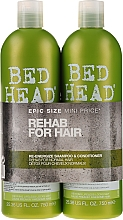 Fragrances, Perfumes, Cosmetics Set - Tigi Bed Head Rehab For Hair Kit (shm/750ml + cond/750ml)
