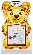 Fragrances, Perfumes, Cosmetics Vitamin Face Mask - SNP Ice Bear Vita Mask