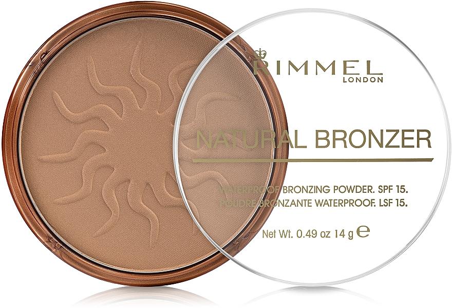 Bronzing Powder - Rimmel Natural Bronzer Powder