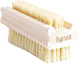 Fragrances, Perfumes, Cosmetics Wooden Hand and Nail Brush - Lynia