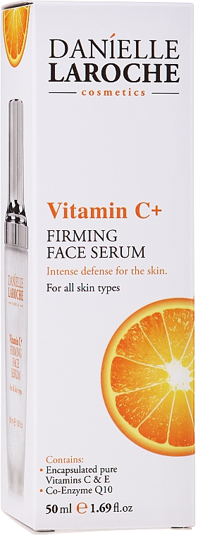 Firming Vitamin C Face Serum - Danielle Laroche Cosmetics Firming Face Serum Vitamin C+