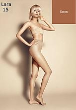"Fragrances, Perfumes, Cosmetics Women's Tights ""Lara"", 15 Den, Cocco - Veneziana"