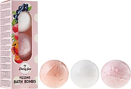 Fragrances, Perfumes, Cosmetics Fizzing Bath Bombs - Delia Dairy Fun Milky Bath Balls