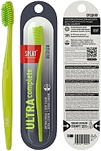 Fragrances, Perfumes, Cosmetics Ultra Complete Medium Toothbrush, light green - Splat