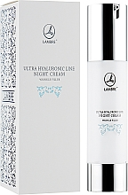 Fragrances, Perfumes, Cosmetics Anti-Wrinkle Repair Night Cream - Lambre Ultra Hyaluronic