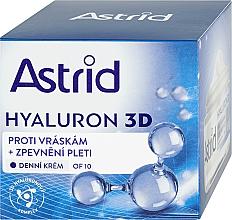 Fragrances, Perfumes, Cosmetics Facial Day Cream - Astrid Hyaluron 3D