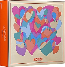 Fragrances, Perfumes, Cosmetics Moschino I Love Love - Set (edt/30ml + b/lot 50ml)