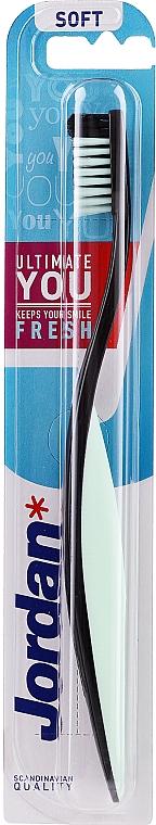 Toothbrush Soft, black-white - Jordan Ultimate You Soft — photo N1