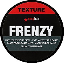 Fragrances, Perfumes, Cosmetics Texturizing Volume Hair Paste - SexyHair StyleSexyHair Frenzy Flexible Texturizing Paste