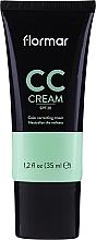 Fragrances, Perfumes, Cosmetics Anti-Redness CC Cream - Flormar CC Cream Anti-Redness