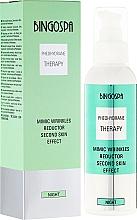 Fragrances, Perfumes, Cosmetics Face Cream - BingoSpa Mimic Wrinkles Reductor Second Skin Effect
