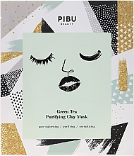 Fragrances, Perfumes, Cosmetics Cleansing Clay Mask with Green Tea - Pibu Beauty Green Tea Purifying Clay Mask