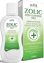 Fragrances, Perfumes, Cosmetics Cleansing Body Milk - Dr.EA Zolic Body Cleansing Milk