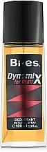 Fragrances, Perfumes, Cosmetics Bi-Es Dynamix - Perfumed Deodorant Spray