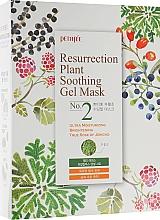 Fragrances, Perfumes, Cosmetics Moisturizing Face Mask for Dull & Stressed Skin - Petitfee&Koelf Resurrection Plant Soothing Gel Mask