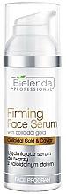 Fragrances, Perfumes, Cosmetics Colloidal Gold Firming Face Serum - Bielenda Professional Program Face Firming Face Serum With Colloidal Gold