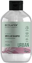 """Fragrances, Perfumes, Cosmetics Micellar Shampoo for Sensitive Scalp """"Aloe Vera & Verbena"""" - Ecolatier Urban Micellar Shampoo"""