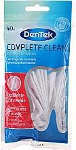 Fragrances, Perfumes, Cosmetics Fluorine Mint Dental Floss with Handle - DenTek CompleteClean Zahnseide&Sticks