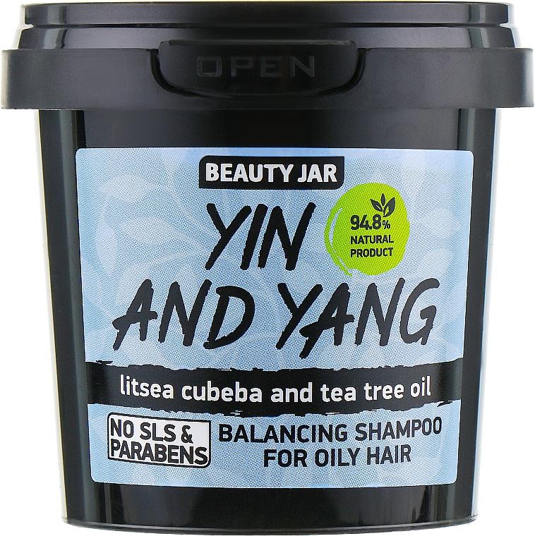 "Oily Hair Shampoo ""Yin and Yang"" - Beauty Jar Shampoo For Oily Hair"