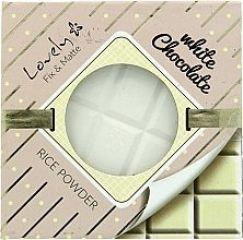 Fragrances, Perfumes, Cosmetics Face Powder - Lovely White Chocolate Rice Powder