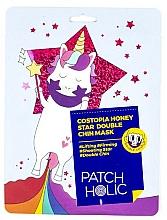 Fragrances, Perfumes, Cosmetics Chin Mask - Patch Holic Costopia Honey Star Double Chin Mask