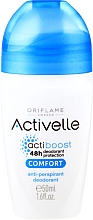 Fragrances, Perfumes, Cosmetics Roll-On Antiperspirant Deodorant with Caring Complex - Oriflame Activelle Comfort Anti-Perspirant Deodorant