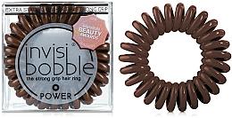 Fragrances, Perfumes, Cosmetics Hair Ring - Invisibobble Power Pretzel Brown