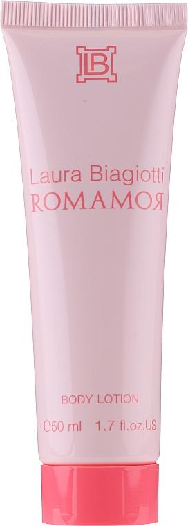 Laura Biagiotti Romamor - Set (edt/50ml+b/lot/50ml) — photo N2