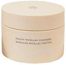 Fragrances, Perfumes, Cosmetics Cleansing Cotton Pads - Omorovicza Peachy Micellar Cleansers