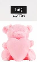 "Fragrances, Perfumes, Cosmetics Natural Handmade Soap ""Bear with Heart"" - LaQ Happy Soaps Natural Soap"