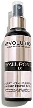 Fragrances, Perfumes, Cosmetics Makeup Fixing Spray - Makeup Revolution Hyaluronic Fix Spray