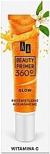 Fragrances, Perfumes, Cosmetics Vitamin C Makeup Base - AA Beauty Primer 360 Glow Make-Up Base Vitamin C