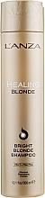 Fragrances, Perfumes, Cosmetics Healing Shampoo for Natural & Bleached Blonde Hair - L'anza Healing Blonde Bright Blonde Shampoo