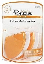 Fragrances, Perfumes, Cosmetics Makeup Sponge Set - Real Techniques 4 Miracle Blotting Cushions