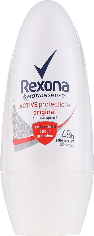 Roll-On Deodorant - Rexona MotionSense Active Protection + Original