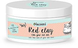 Fragrances, Perfumes, Cosmetics Clay Face Mask - Nacomi Red Clay