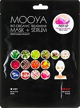 "Fragrances, Perfumes, Cosmetics Mask + Serum ""Breast Care"" - Beauty Face Mooya Bio Organic Treatment Mask + Serum"