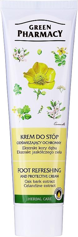 """Refreshing Foot Cream """"Oak and Calendine"""" - Green Pharmacy"""