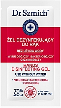 Fragrances, Perfumes, Cosmetics Alcohol Gel Hand Sanitizer - Dr. Szmich Hands Disinfecting Gel (sample)