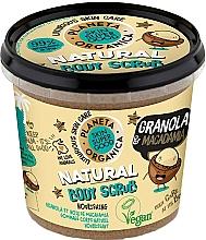 "Fragrances, Perfumes, Cosmetics Body Scrub ""Granola & Macadamia"" - Planeta Organica Granola & Macadamia Body Scrub"