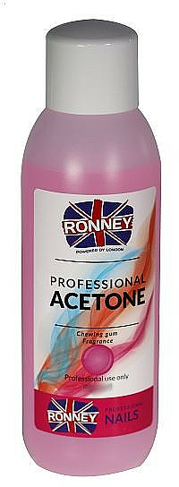 """Nail Polish Remover """"Bubble Gum"""" - Ronney Professional Acetone Chewing Gum"""