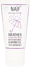 Fragrances, Perfumes, Cosmetics Baby Protective Face & Body Cream - Naif Weather Protection Cream