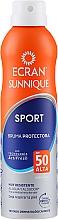 Fragrances, Perfumes, Cosmetics Sunscreen Spray - Ecran Sun Lemonoil Sport Spray Invisible SPF50