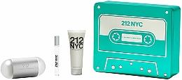 Fragrances, Perfumes, Cosmetics Carolina Herrera 212 NYC - Set (edt/100ml + edt/10ml + b/lot/75ml)