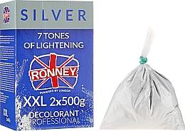 Fragrances, Perfumes, Cosmetics Bleaching Hair Powder up to 4 Tones - Ronney Dust Free Bleaching Powder Classic