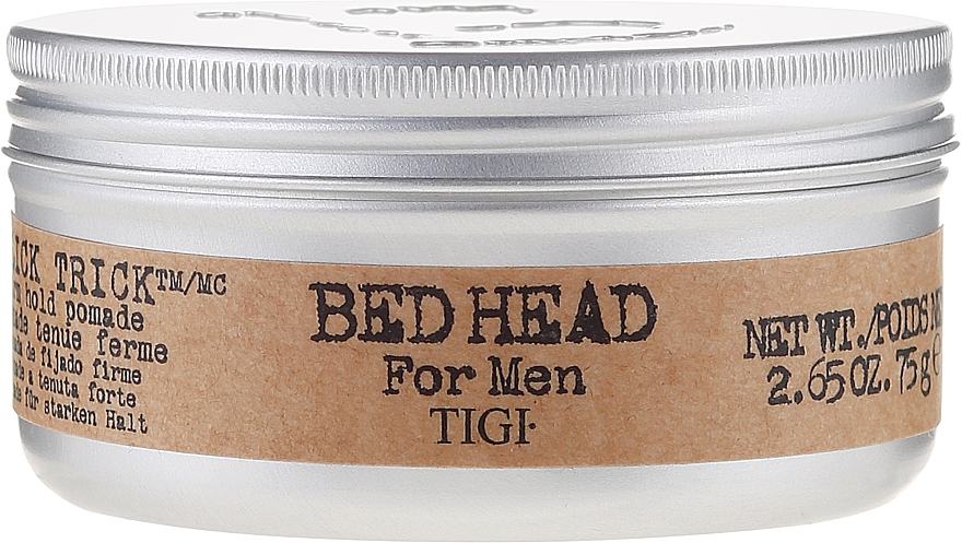 Strong Hold Hair Styling Gel-Pomade - Tigi Bed Head For Men