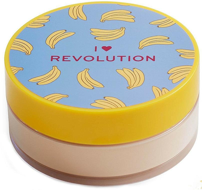 Face Baking Powder Banana - I Heart Revolution Loose Baking Powder Banana