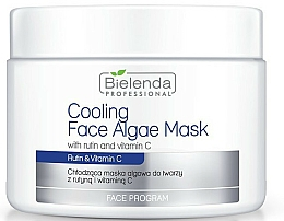 Fragrances, Perfumes, Cosmetics Alginate Face Mask with Rutin and Vitamin C - Bielenda Professional Cooling Face Algae Mask