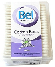 Fragrances, Perfumes, Cosmetics Cotton Buds with Microfiber, 200 pcs - Bel Cotton Buds